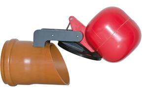 Napan højvandslukke Type 0 med muffe