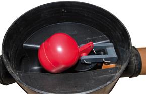 Napan højvandslukke Type 0 til indvendig montering
