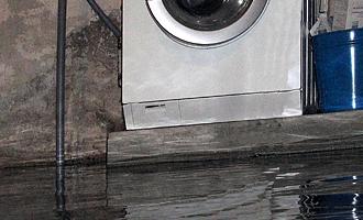 Sikring mod en oversvømmet kælder kan se vha klapkontraventil