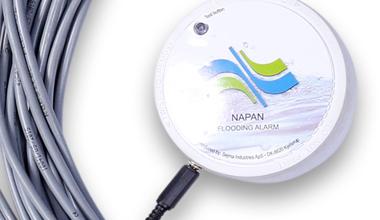 Napan alarm anvendes ved stop for tilbageløb af fækalieholdigt kloakvand