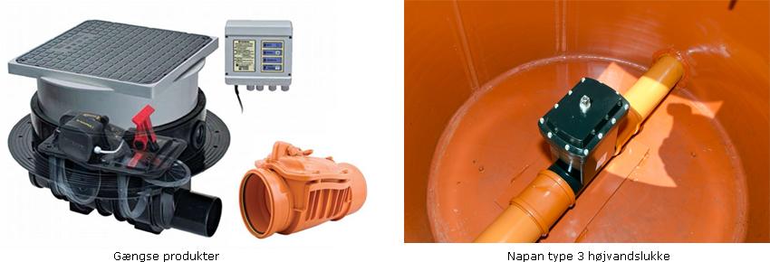 Napans nye højvandslukke type 3 er udset til at kunne udkonkurere markedets andre produkter på alle parametre