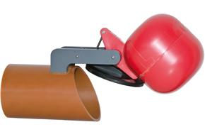 Napan højvandslukke Type 0 med glat rørende