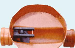 Napan klapkontraventil. Til indvendig montering i brønd
