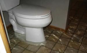 Undgå oversvømmelse i huset, når det regner kraftigt