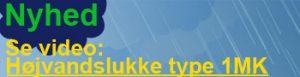 Se video med højvandslukke type 1MK i funktion